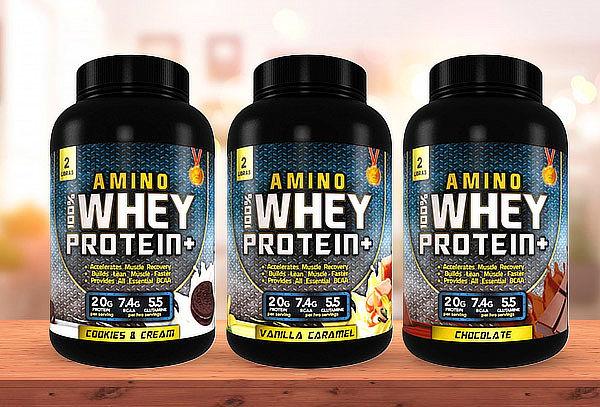 Proteína 100% Amino Whey Protein de 2 libras Supletech