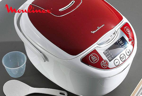 ¡12 Funciones! Olla Robot Multicook de Moulinex