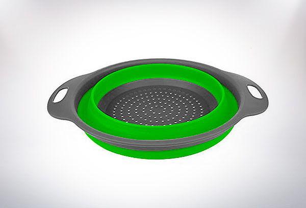 Colador Plegable Flexible De Silicona