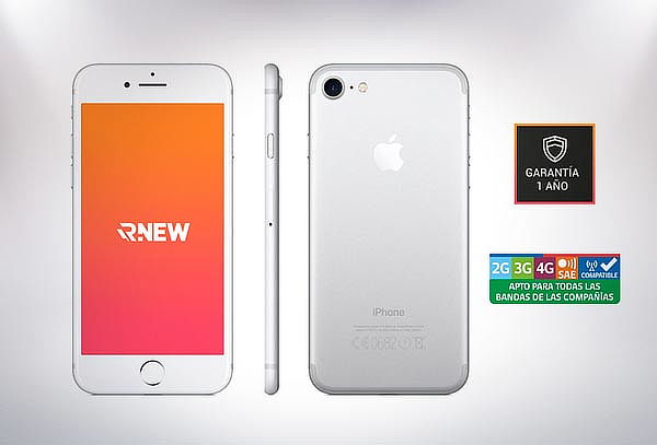 iPhone 7 de 128GB Negro