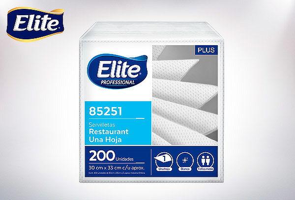 Pack 12  Servilletas Elite en paquetes 200 c/u