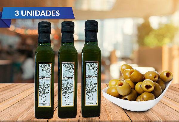 Pack 3 aceite de oliva extra virgen 250 cc.