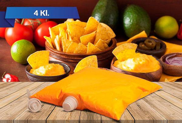 Disfruta de la exquisita Salsa queso cheddar 4 Kl.