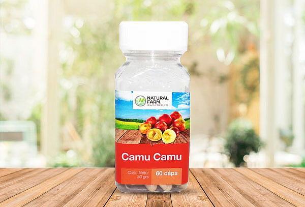 Camu Camu 60 Caps Antioxidante 100% Natural