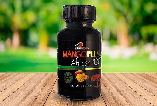 Mango Plus Africano 60 Capsulas