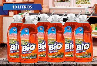 18 Litros Detergente Líquido Bio Frescura, Desierto Florido
