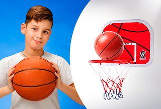 Juego Basquetbol Aro Canasta Niños Regulable