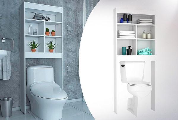 Mueble Optimizador Baño Bath 20 Blanco Marca Tuhome