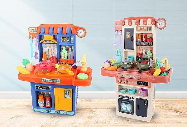 Cocinas para niños y niñas con sistema de agua interna