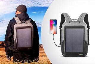 Mochila Solar impermeable y anti-robo