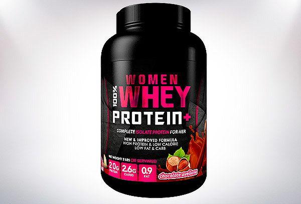 Suplemento 100% Women Whey Protein de 2 libras Supletech