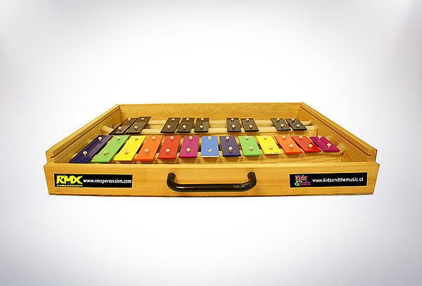 Metalofono con caja Modelo a elección