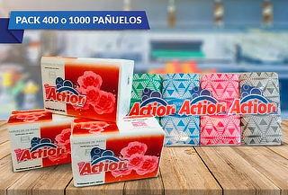 Pack de 400 o 1.000 Pañuelos Desechables