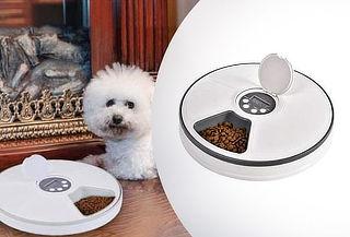 Dispensador de Alimentos Automático para Perros o Gatos