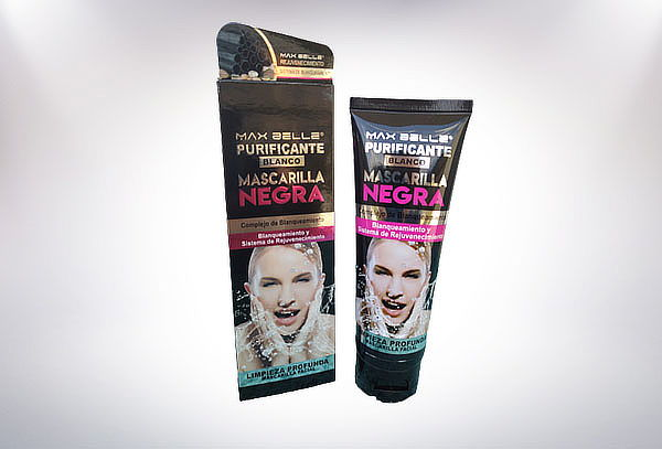 Máscara Facial Peel Off Negra Wokali 130 ml Flower Secret