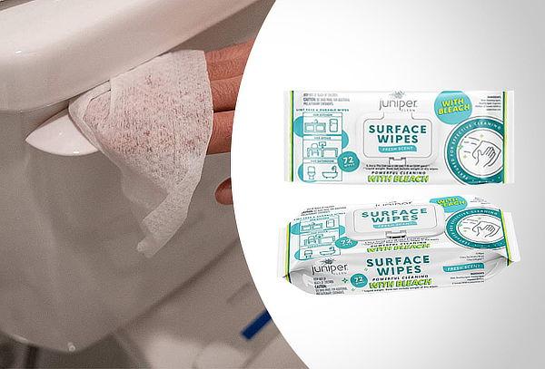 Pack 3 paquetes de toallitas con cloro