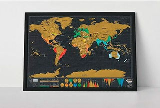 "SCRATCH MAP ""Vinilos"""