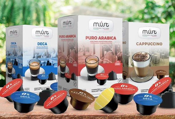 Pack 16 Capsulas Café Compatible con Dolce Gusto