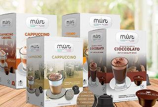 Pack 16 o 48 Capsulas Café Compatible con Dolce Gusto