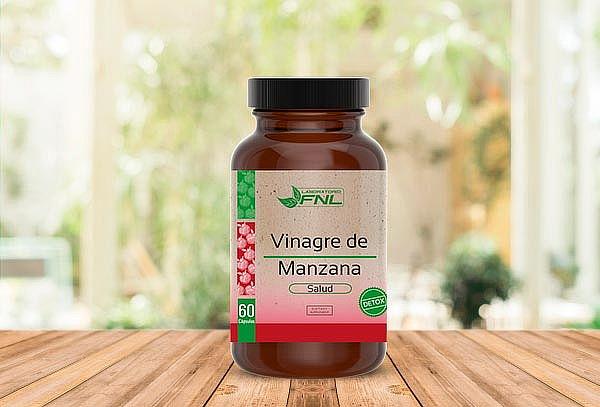 Vinagre de manzana 60 capsulas Laboratorio FNL