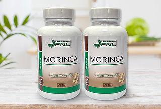 Pack de 2 Frascos de Moringa 60 capsulas Laboratorio FNL