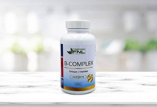 B Complex, 90 cápsulas, marca FNL