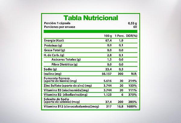 Complejo B Vegano Vitamina B12 B-Complex 60 cápsulas