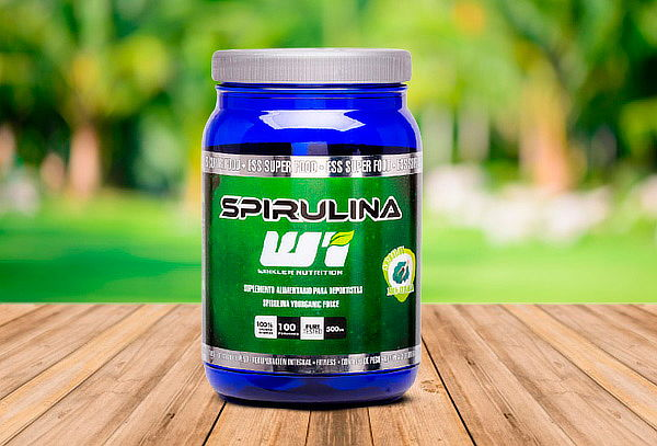 Spirulina orgánica en polvo 500 grs. 100 porciones