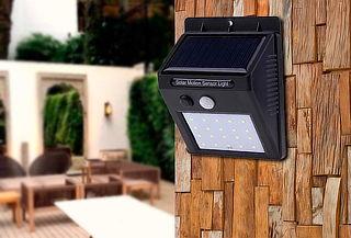 Foco Solar 20 LED con Sensor de Movimiento