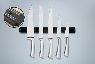 Soporte Magnético para Cuchillos y Utensilios