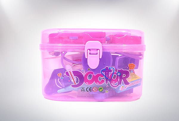 Kit Maleta Doctor Lonchera Medico Juguete Niños 18 piezas