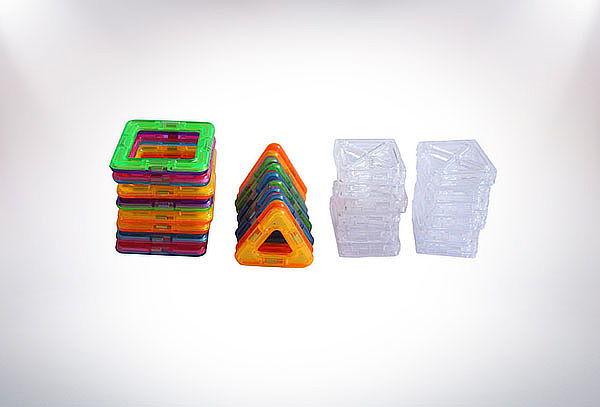 Juego Magnetico Didactico 3d Lego 36 Piezas