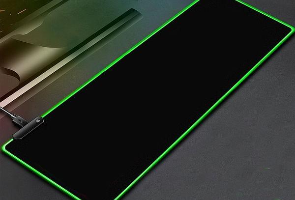 Mouse Pad Gamer Profesional de 30x80 con Luz Led