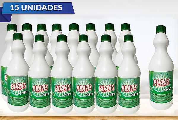 Pack 15 Lts Cloro Concentrado PLAAS