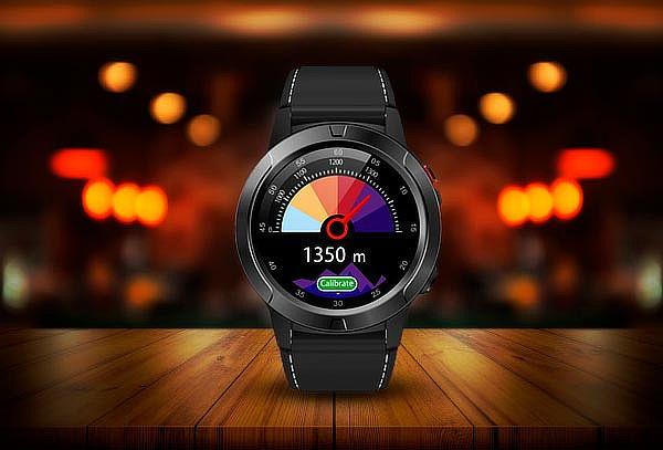 Reloj Smartwatch Lhotse Track M4 GPS Black