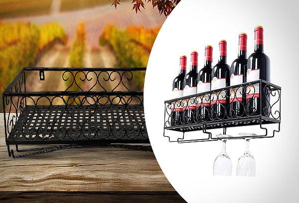 Estante para vinos 6 botellas
