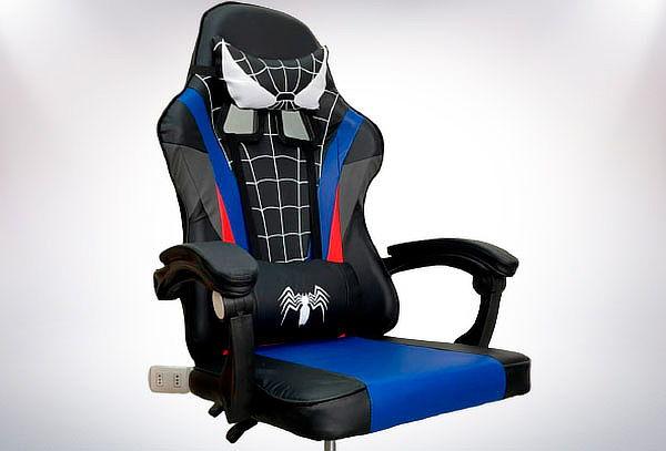 Silla Gamer Diseño Spider Man Color a elección