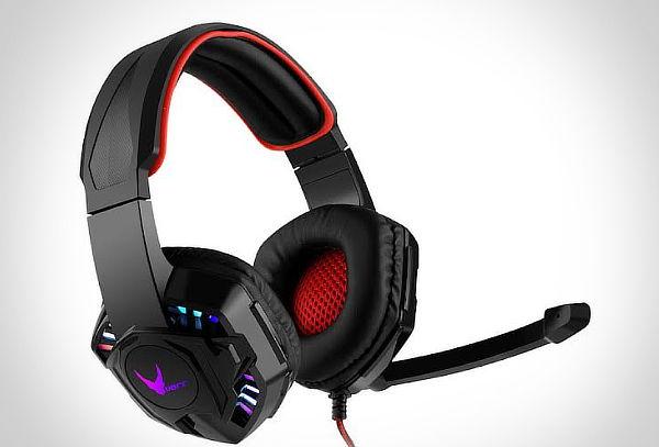 Audifono Gamer con luces Led y microfono
