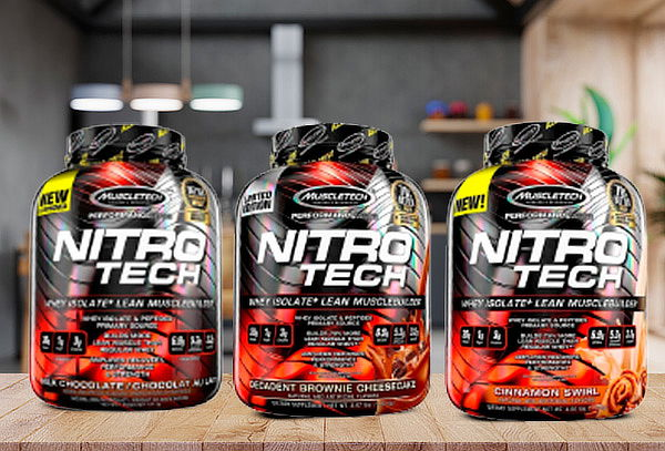 Nitro Tech 4 Lbs - Muscletech