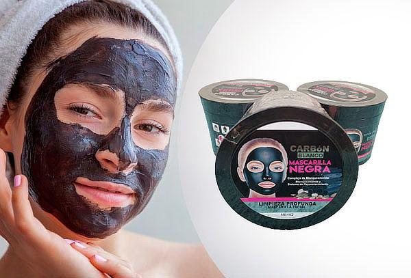 Máscara Facial Peel Off Negra Wokali 300 ml Flower Secret