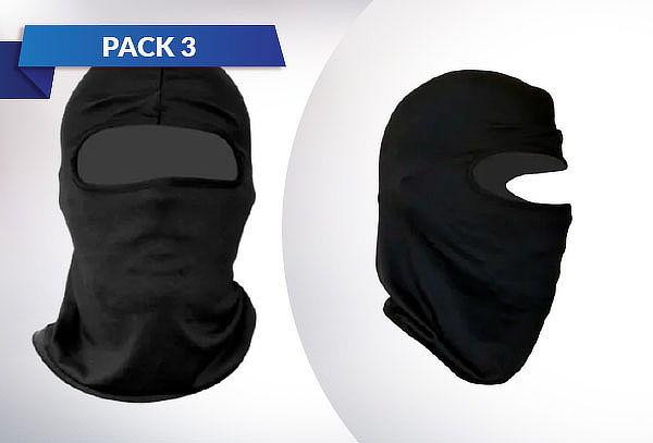Pack 3 Fundas para Cabeza de Lycra