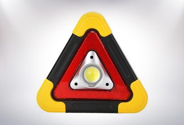 Triangulo Seguridad y Emergencia Carga Solar/USB
