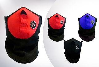 Pack 3 Mascaras Protectores Neopreno Motos y Bicicleta