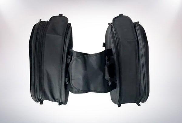 Set de 2 Alforjas para Moto Ajustable