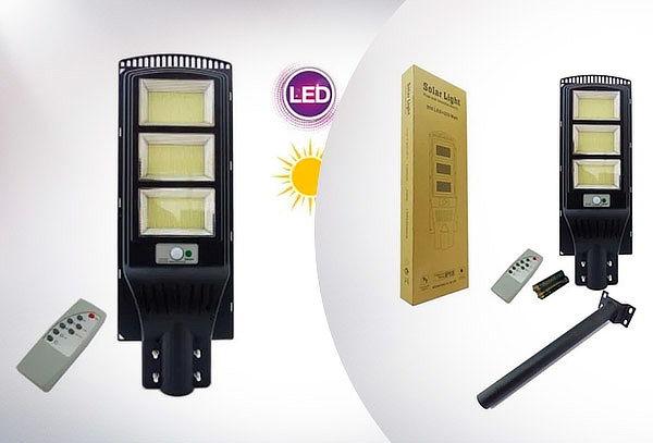 Foco Solar 180W + Soporte de Metal