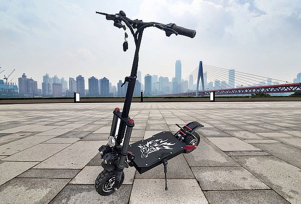 Scooter Eléctrico 3era Generación, Potente Y Rápido