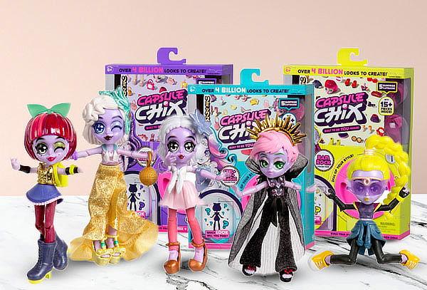 Muñecas Fashion Capsule Chix, modelo a elección