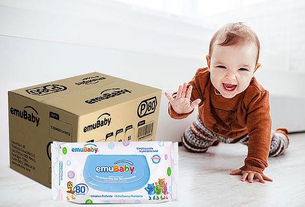 Pack 18 Emuwipes® Premium 80 Hojas