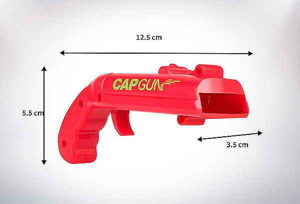 Destapador De Botellas Abridor Pistola