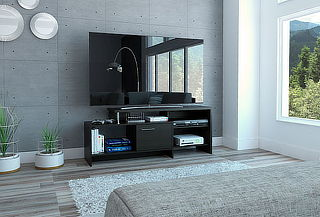 Mueble para Tv Bengala Color wengue Tuhome